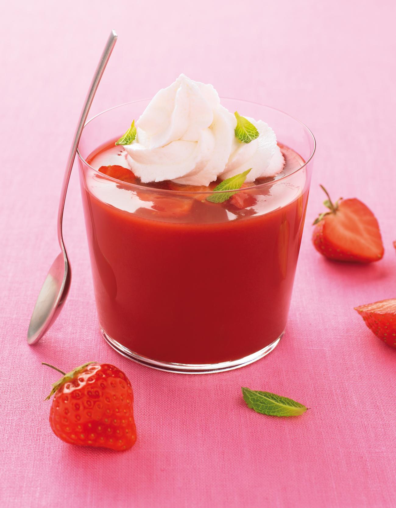 soupe chantilly_Soupe_de_fraise_Andros 2