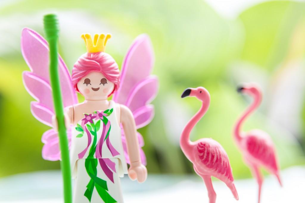 L'avantage des figurines Playmobil® est que l'on peut créer des histoires à l'infini