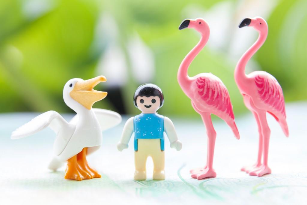 Les animaux Playmobil® permettent aux enfants d'appréhender l'incroyable diversité de la nature