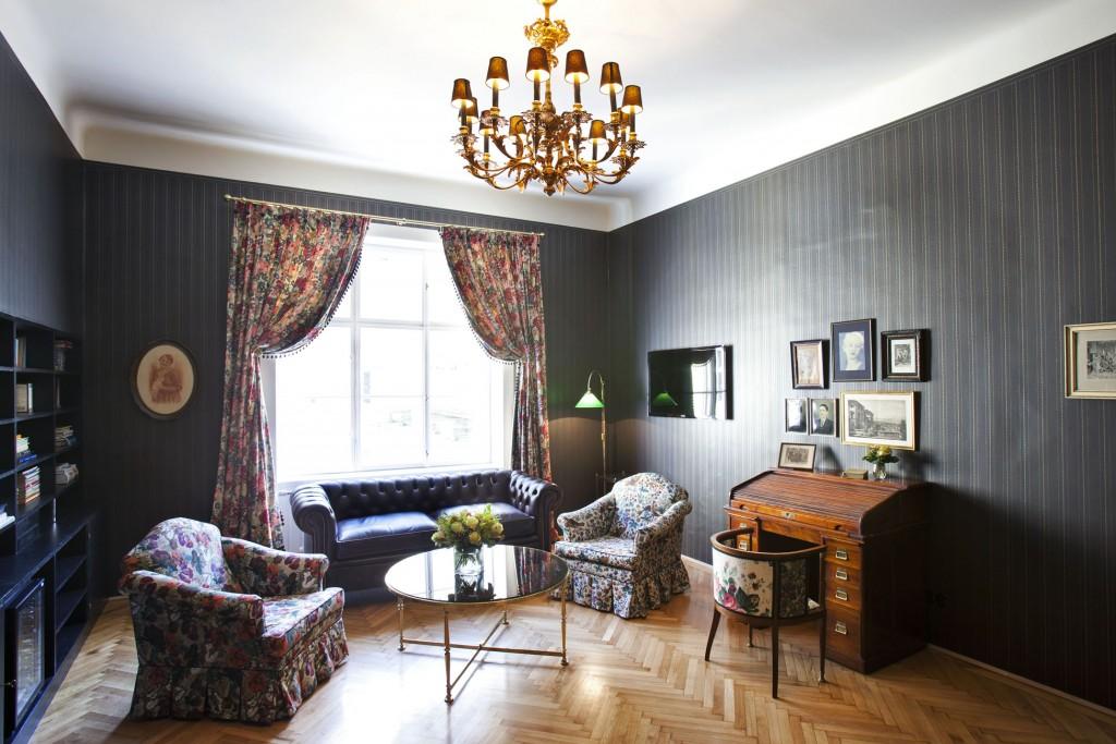 Europa. Oesterreich, Wien, Hotel Altstadt Vienna, Lena Hoschek Suite