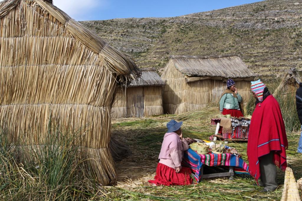 Bolivie Le Flottante Lac Titicaca 2