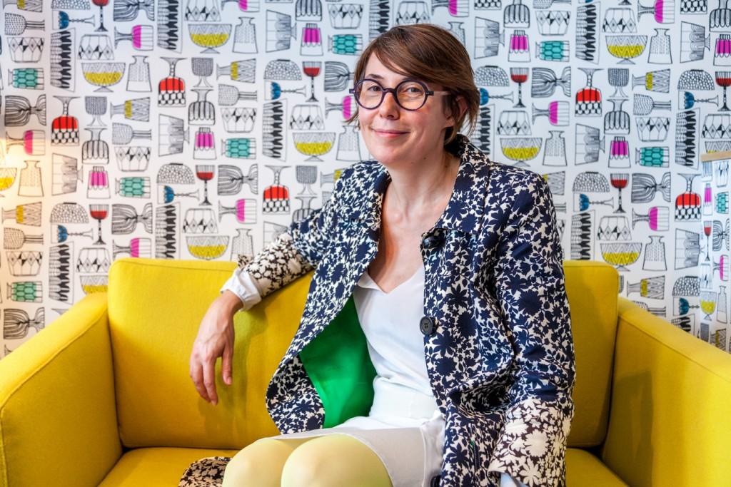 Julie Gauthron a décoré l'Hôtel Crayon Rouge comme elle l'aurait fait pour sa propre maison.