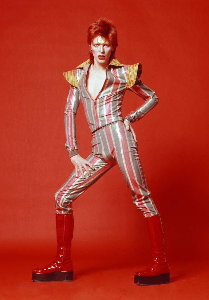David Bowie, 1973. Photographie_ de Masayoshi Sukita - © Sukita The David Bowie Archive