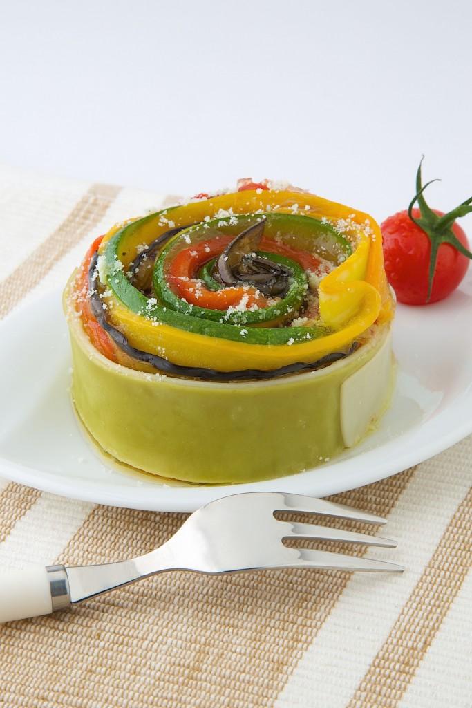 Lasagne de légumes grillés au Société® à Saupoudrer HD