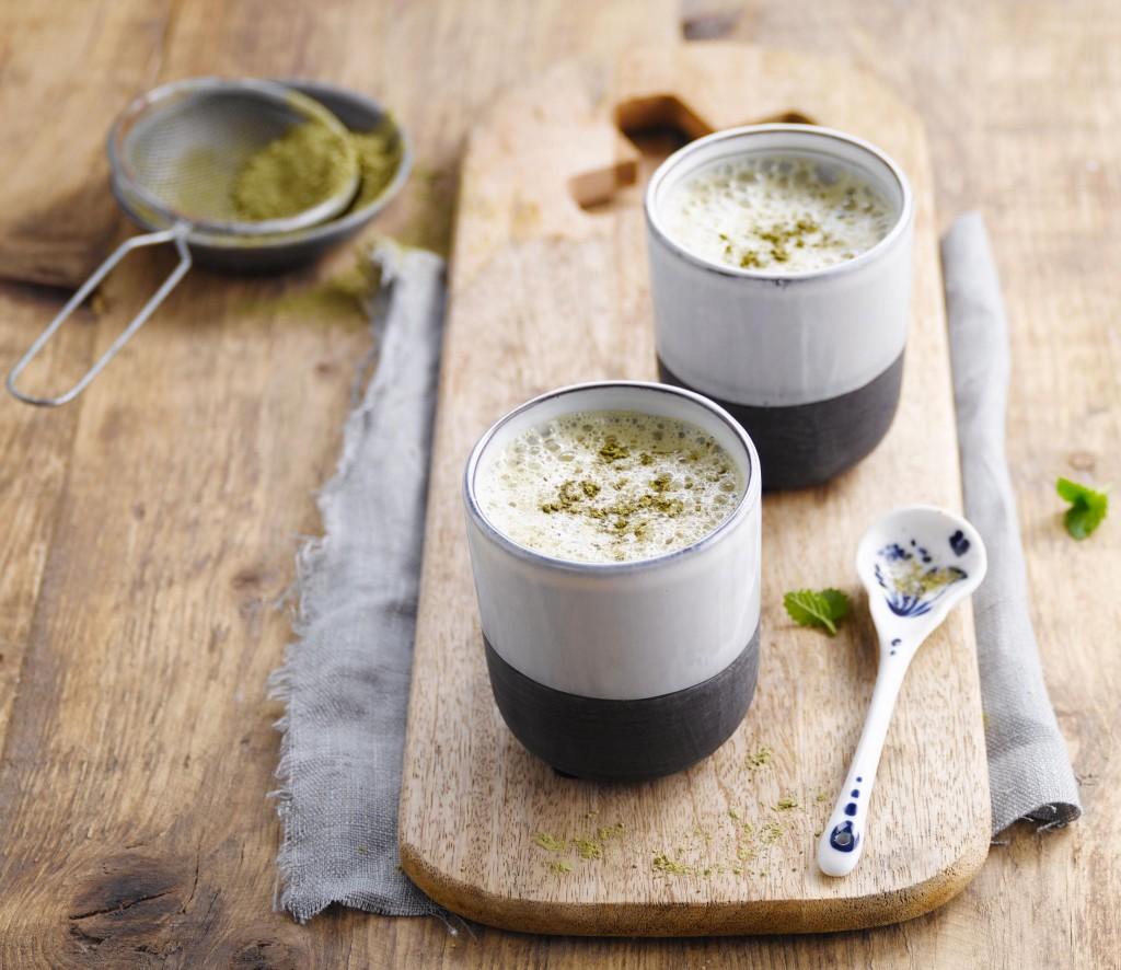 Thé latte vert