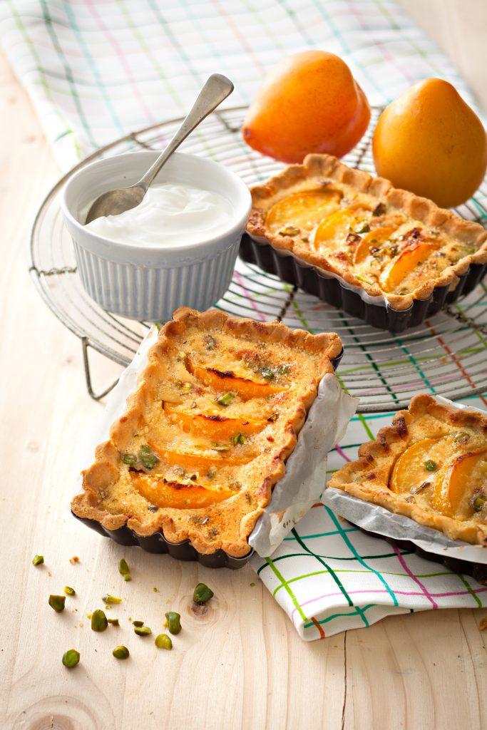 Tarte-amandine-pistache-abricot-maizena
