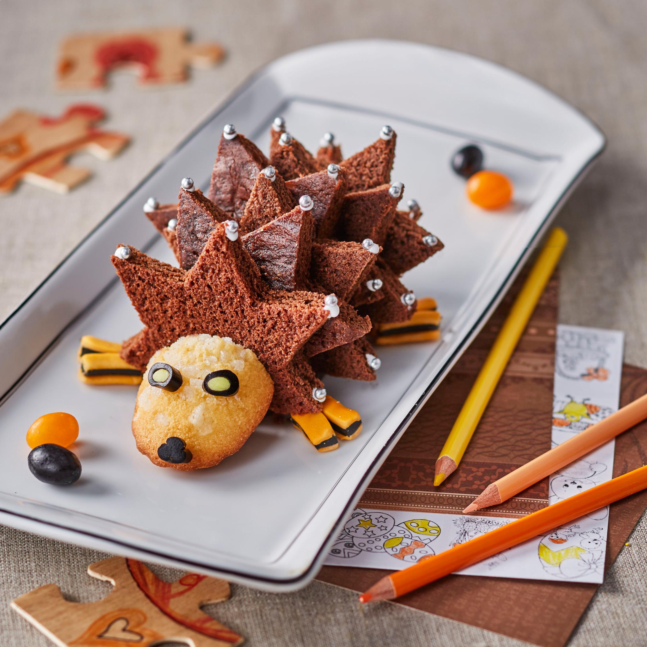 gateau-moelleux-herisson-au-chocolat