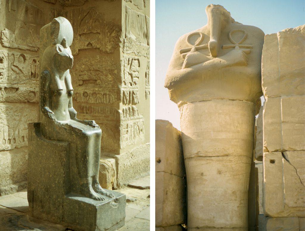 egypte-louxor-louqsor-statue-sekmet-croix-ankh-copyright-maeva-destombes