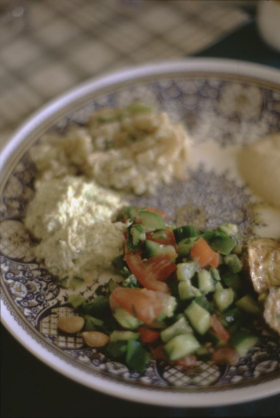 Jordanie. Les Mezzes constituent l'alimentation principale de Jordanie.