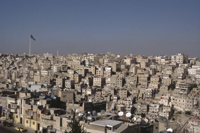 Jordanie. Amman. Une capitale qui ne cesse de s'agrandir.