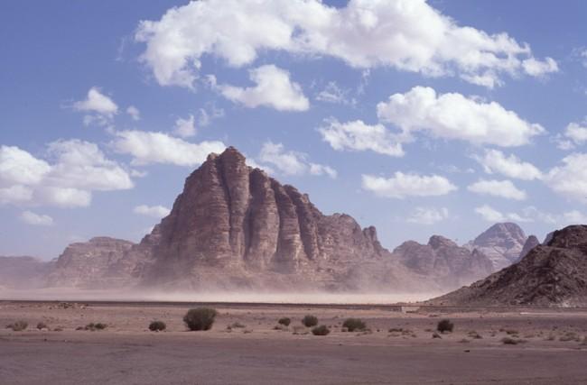 Jordanie. Wadi-Rum. Le dŽsert rouge. Les 7 piliers de la sagesse.