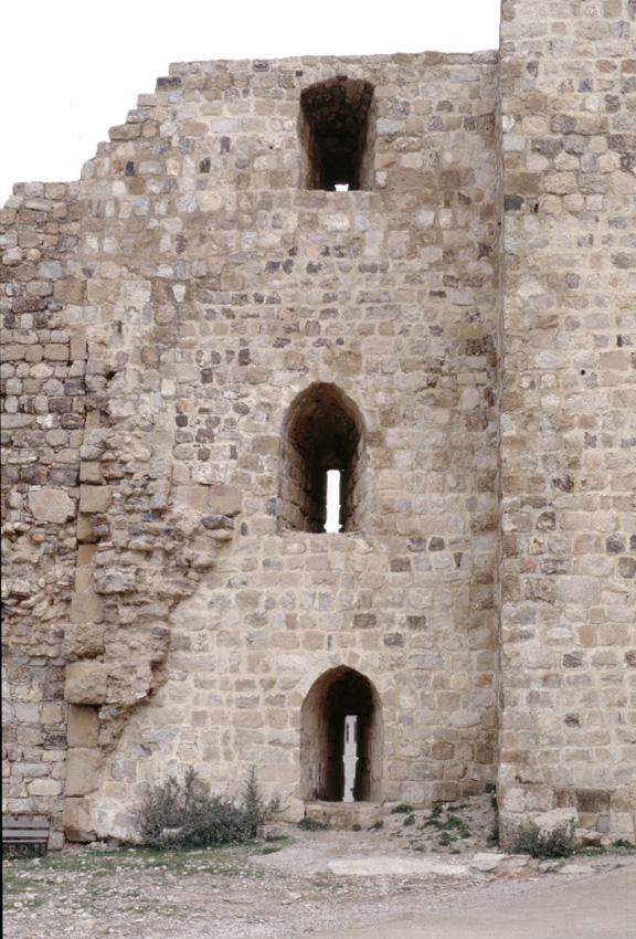 Jordanie. Kerak. La citadelle.