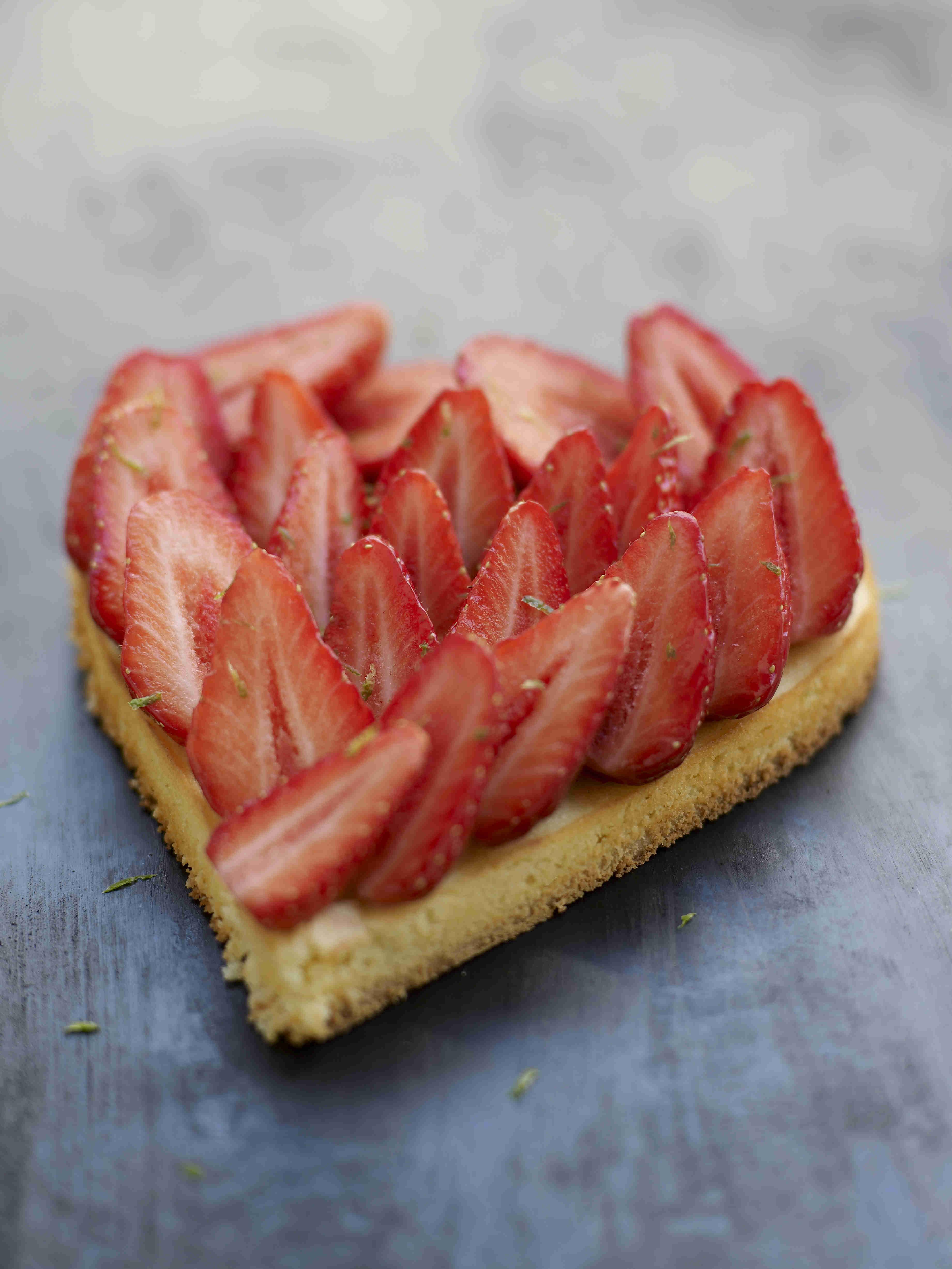 Coeur de fraises HD
