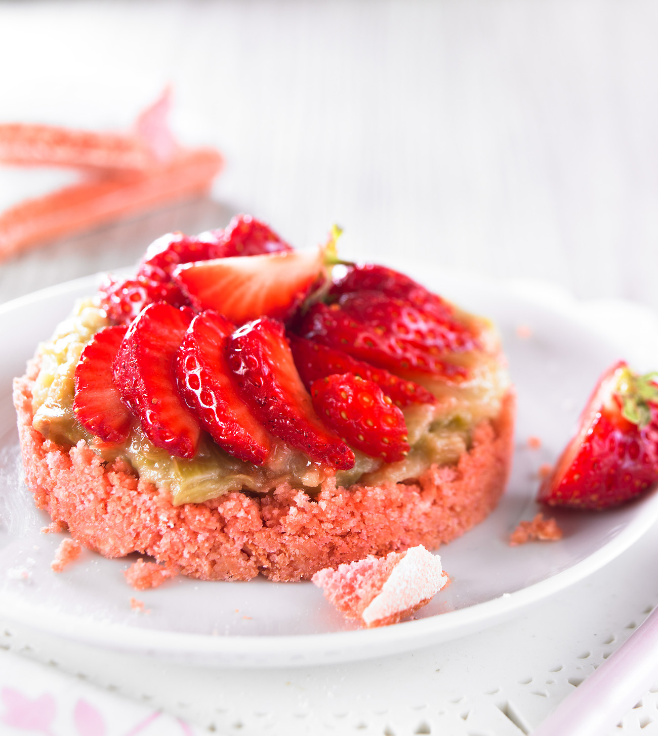 Biscuits rose fraise rhubarbe Equilibre HD