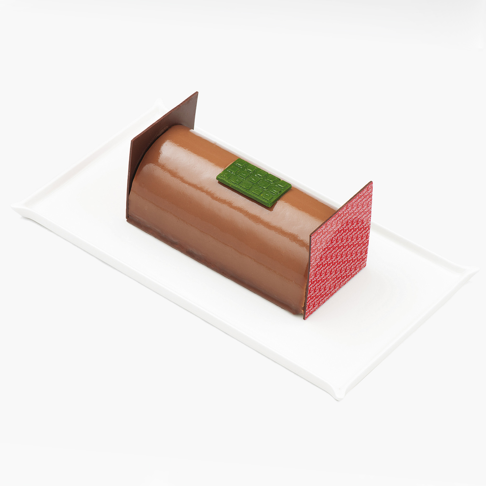 top buches noel 2016 buche chocolat sesame aoki 2 d lices. Black Bedroom Furniture Sets. Home Design Ideas