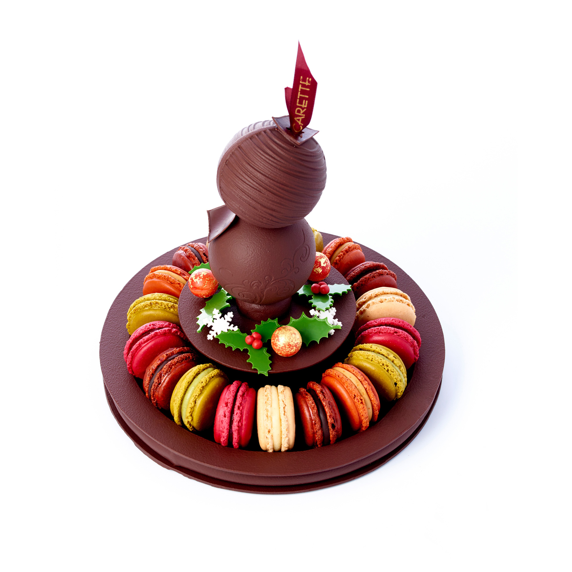 Gourmandise sucree salee noel 2016 carette centre de table for Centre de table gourmandise