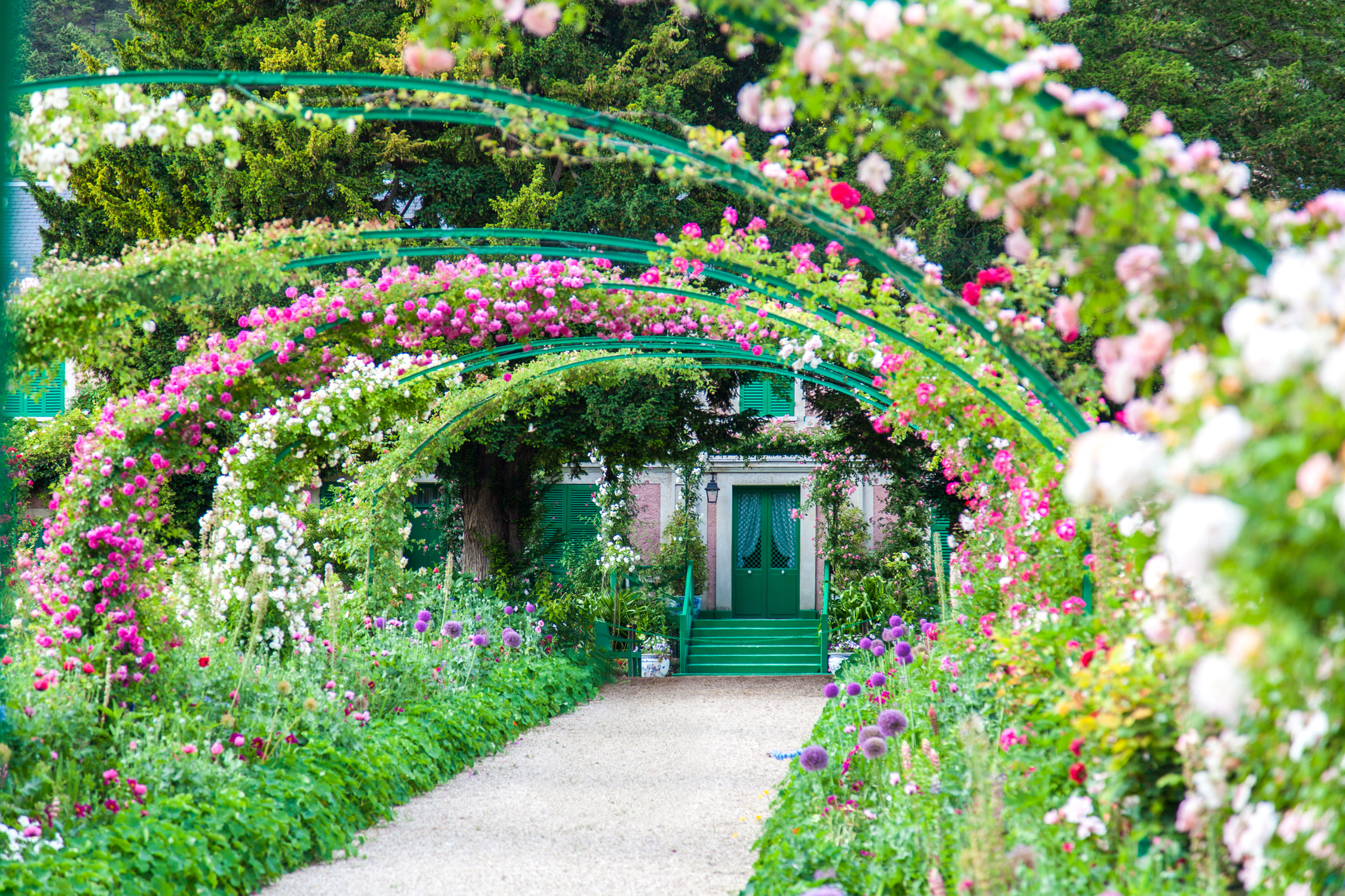 Les jardins de la fondation claude monet giverny d lices for Jardines monet